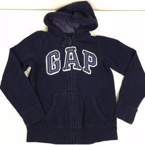 Gap Kids Girls Full Zip Hoodie Jacket